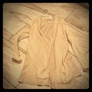 Anthropologie ivory sweater